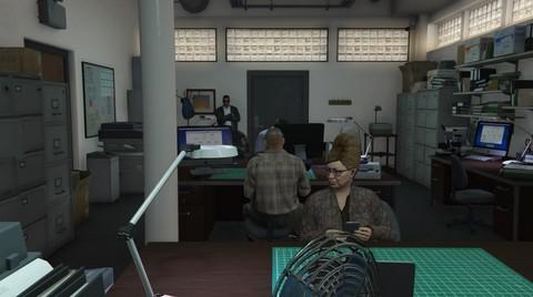 Escritório de falsificação de documentos
