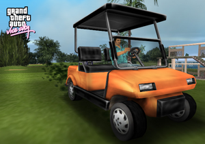 Image promotionnelle GTA Vice City (Caddy)