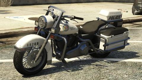 Motocicleta de polícia
