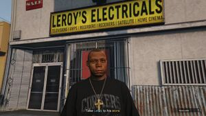 Leroy GTAVe Caught Napping store