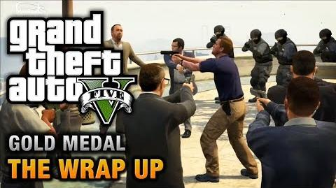 GTA 5 - Mission 69 - The Wrap Up 100% Gold Medal Walkthrough