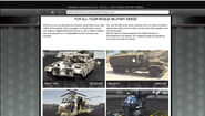 Warstock web site