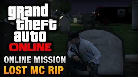 GTA Online - Mission - Lost MC RIP Hard Difficulty