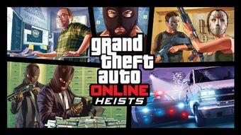 Heists In Grand Theft Auto Online Gta