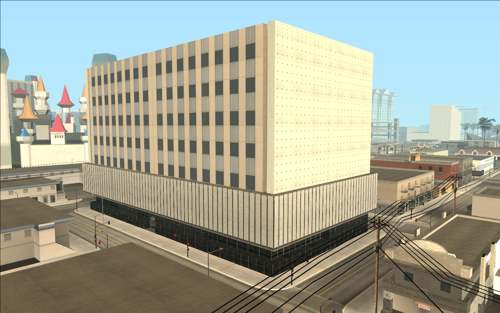 Come-A-Lot Courthouse
