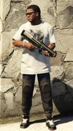 FranklinClinton-GTAV-BullpupShotgun