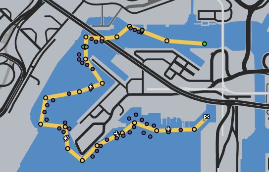 Pier 400 GTAO Race Map.png