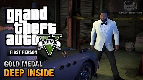GTA 5 - Mission 46 - Deep Inside First Person Gold Medal Guide - PS4