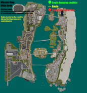 GTAVC Dildo Dodo mission map