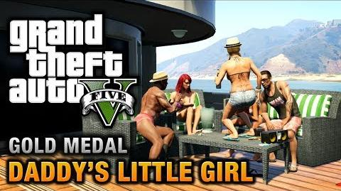 GTA 5 - Mission 7 - Daddy's Little Girl 100% Gold Medal Walkthrough