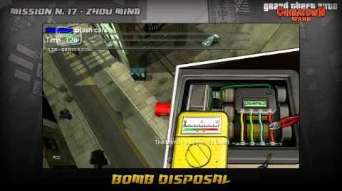 GTA Chinatown Wars - Walkthrough - Mission 17 - Bomb Disposal