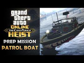 GTA Online- The Cayo Perico Heist Prep - Patrol Boat -Solo-