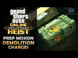 GTA Online- The Cayo Perico Heist Prep - Demolition Charges -Solo-