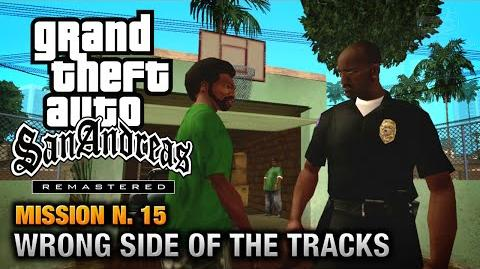 GTA San Andreas Remastered - Mission 15 - Wrong Side of the Tracks (Xbox 360 PS3)