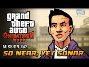 GTA Chinatown Wars - Mission -42 - So Near, Yet Sonar
