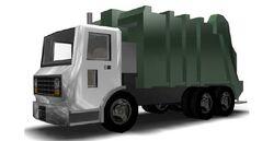 GarbageTruck-GTAIII-front