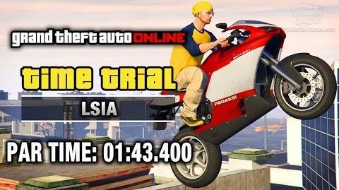 GTA Online - Time Trial 17 - LSIA (Under Par Time)