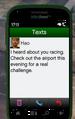 Airport GTAV Street Race Text