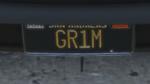 Custom Plate GTAO GR1M