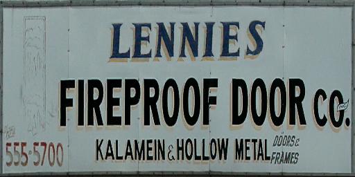 Lennies Fireproof Door Co.