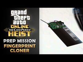 GTA Online- The Cayo Perico Heist Prep - Fingerprint Cloner -Solo-