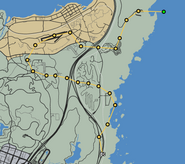 The Humane Race GTAO Race Map