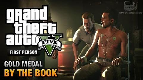 GTA 5 - Mission 25 - By the Book First Person Gold Medal Guide - PS4