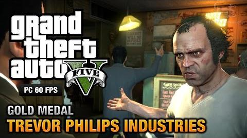 GTA 5 PC - Mission 18 - Trevor Philips Industries Gold Medal Guide - 1080p 60fps