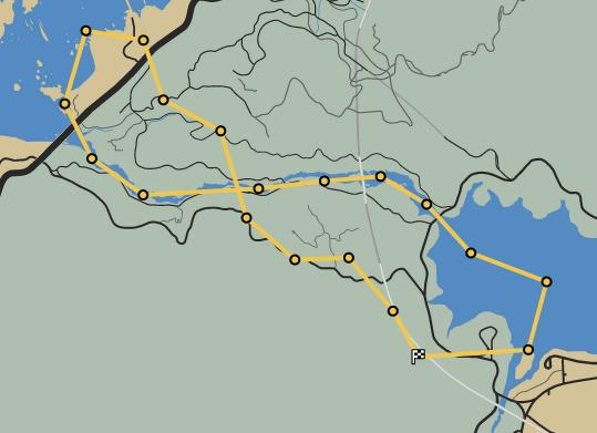 Loose Canyon GTAO Race Map.png
