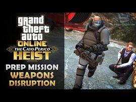 GTA Online- The Cayo Perico Heist Prep - Weapons Disruption -Solo-