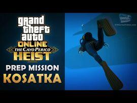 GTA Online- The Cayo Perico Heist Prep - Kosatka -Solo-
