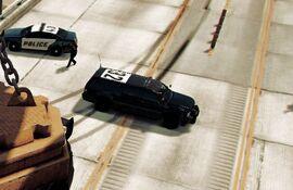 Black Sheriff SUV GTA V