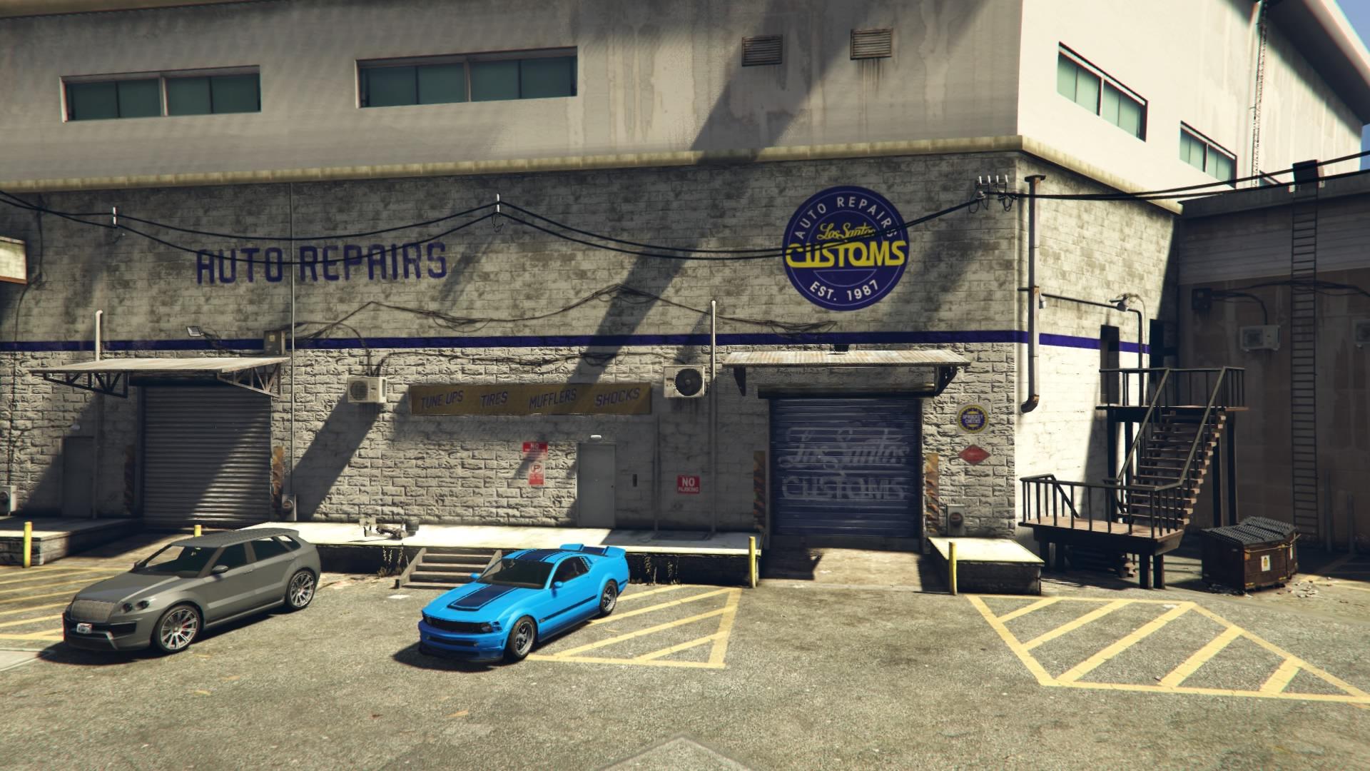 San garage gta andreas 5 of