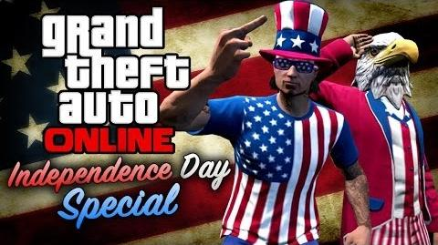 GTA Online - The Independence Day Special All DLC Contents