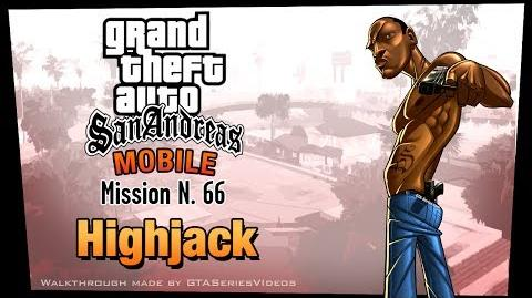 GTA San Andreas - iPad Walkthrough - Mission 66 - Highjack (HD)