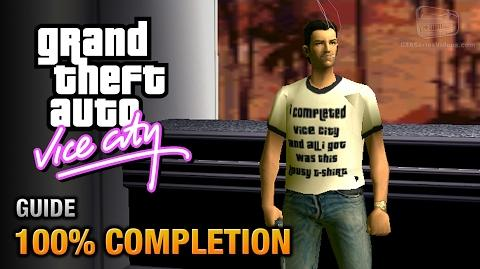 GTA Vice City - 100% Completion Guide Done it All Trophy Achievement