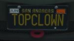 Custom Plate GTAO T0PCL0WN