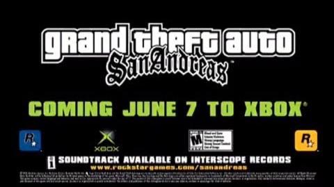 GTA San Andreas - Official Xbox Trailer