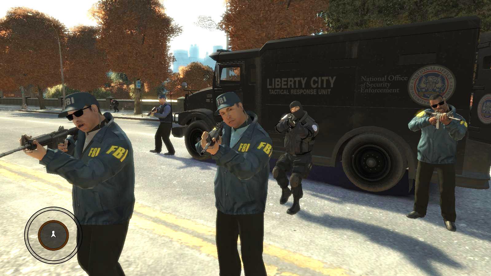 GTA IV PC MOD - FBI Agents with LC NOoSE.jpg