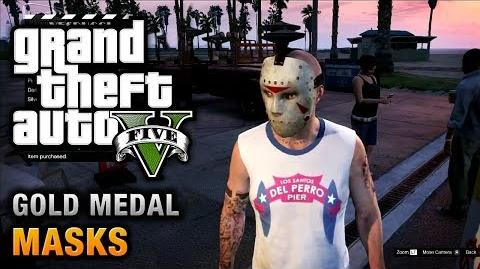 GTA 5 - Mission 36 - Masks 100% Gold Medal Walkthrough