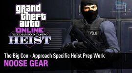 GTA Online The Diamond Casino Heist - NOOSE Gear The Big Con - Solo