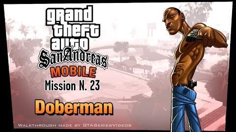 GTA San Andreas - iPad Walkthrough - Mission 23 - Doberman (HD)