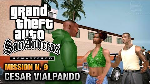 GTA San Andreas Remastered - Mission 9 - Cesar Vialpando (Xbox 360 PS3)