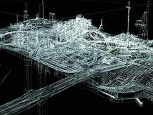 3D gta 3 map wallpaper