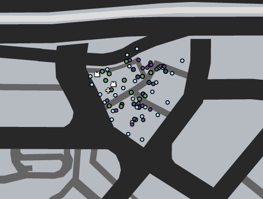 Chasing Shots Deathmatch GTAO Map.png