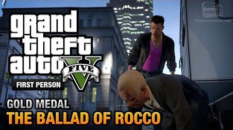 GTA 5 - Mission 60 - The Ballad of Rocco First Person Gold Medal Guide - PS4