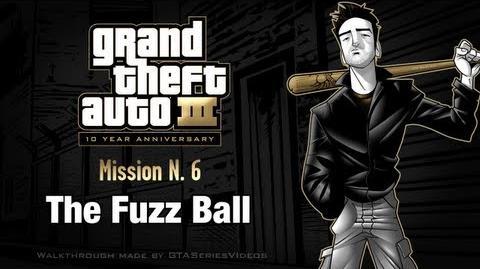 GTA 3 - iPad Walkthrough - Mission 6 - The Fuzz Ball