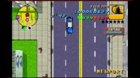 GTA Advance Mission 20 - Race To Run