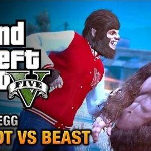 GTA 5 Easter Egg - The Bigfoot vs. The Beast