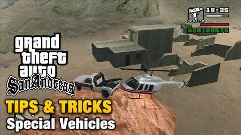 GTA San Andreas - Special Vehicles
